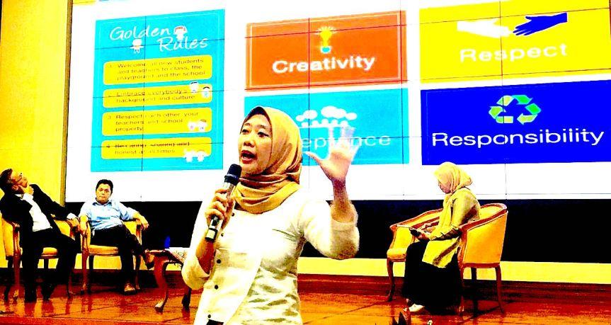 PhD Mama Novi: Sekolah menyenangkan adalah hak seluruh anakIndonesia
