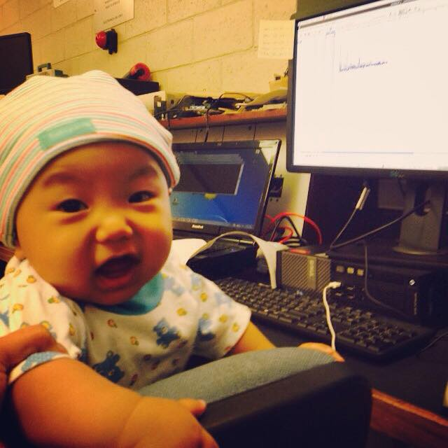 An Engineer baby