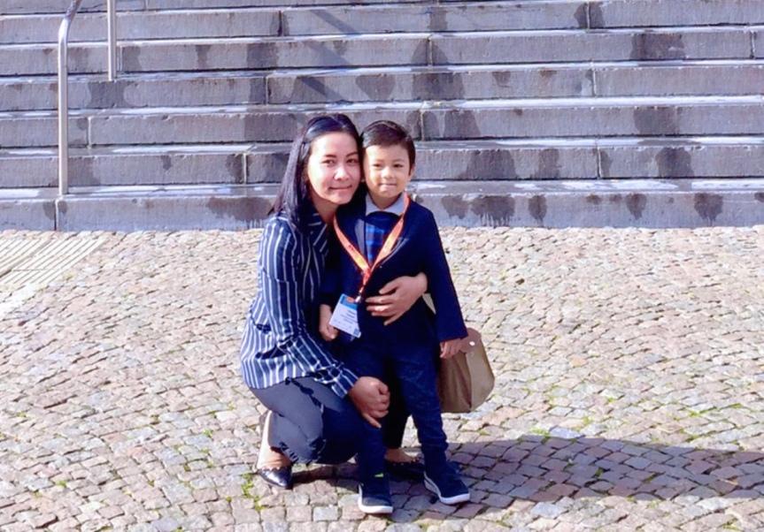 Titissari Rumbogo: Kisah STATA, Batita, dan Robusta diBelanda